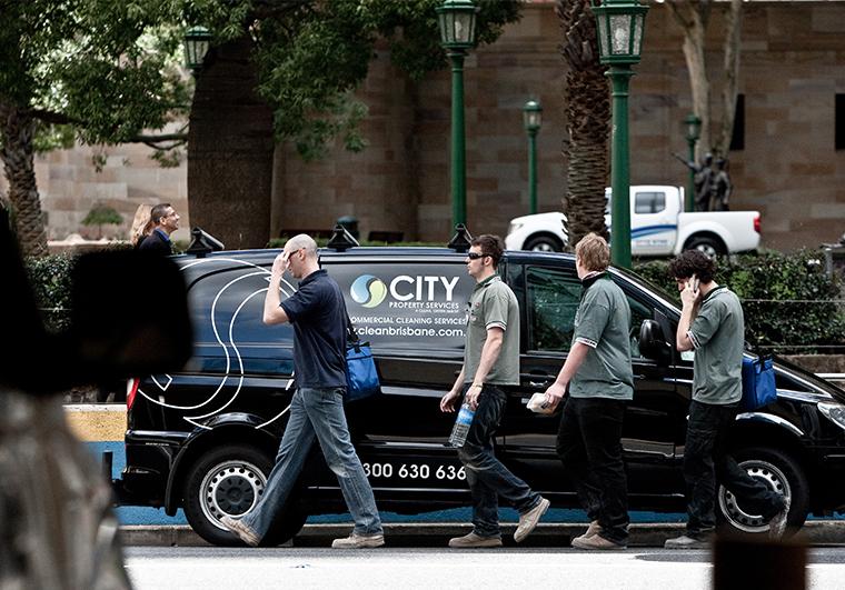 city-property-services-van