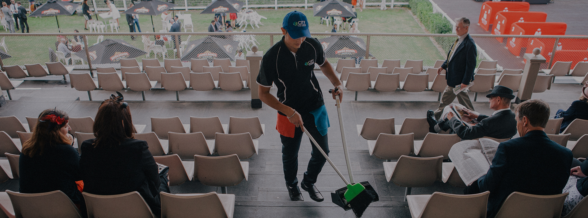 Major event cleaning services